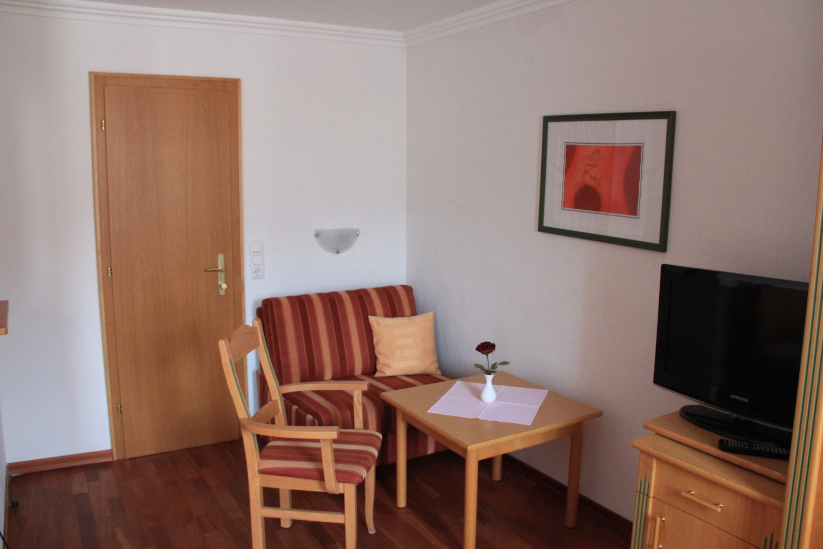 Space to live and to enjoy in the double room village view